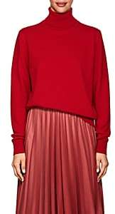 The Row Women's Donnie Cashmere Turtleneck Sweater - Bright Red