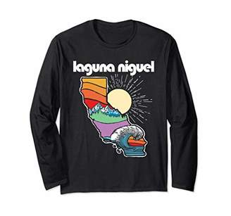Laguna Niguel California Outdoors Retro Nature Graphic Long Sleeve T-Shirt