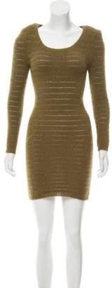Etoile Isabel Marant Angora-Blend Mini Dress