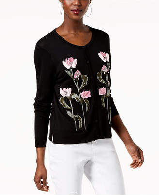INC International Concepts I.n.c. Embroidered Cardigan, Created for Macy's