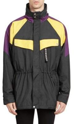 Givenchy Colorblock Warm-Up Track Jacket