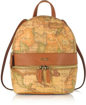 Alviero Martini Geo Classic Coated Canvas Backpack