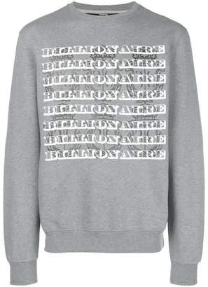 Billionaire Colin sweatshirt