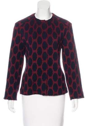 Odeeh Patterned Casual Jacket