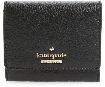 Kate Spade Women's Kate Spade New York Jackson Street Jada Leather Wallet - Black