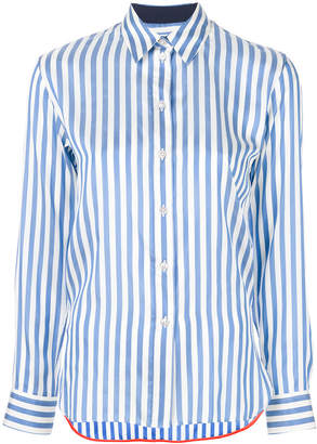Paul Smith striped slim fit shirt