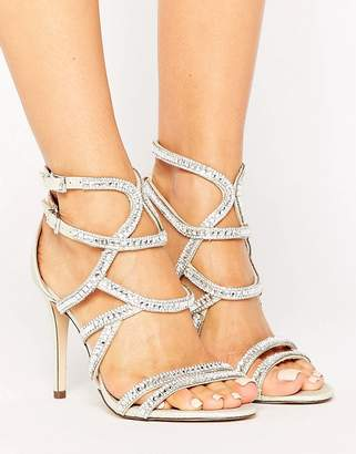 Call it Spring Call It Spring Eymard Embellished Strap Heeled Sandals $72 thestylecure.com