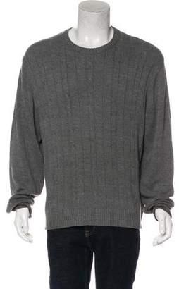 Oscar de la Renta Knitted Solid Sweater