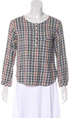 Golden Goose Long Sleeve Flannel Top
