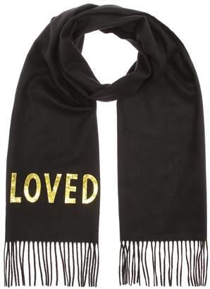 Gucci Silk and cashmere-blend scarf