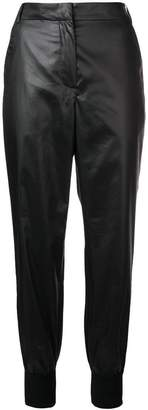 Sonia Rykiel 'Plastic' cropped trousers