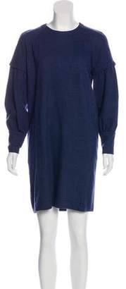 Derek Lam Wool A-Line Dress