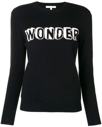 Parker Chinti & slogan long-sleeve sweater