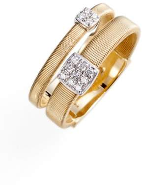 Marco Bicego Masai Two Strand Diamond Ring
