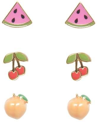 Juicy Couture Fruit Earring Stud Set