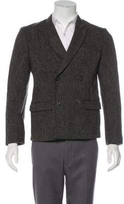 Marc Jacobs Double-Breasted Tweed Blazer