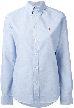 Ralph Lauren embroidered logo shirt $100.81 thestylecure.com