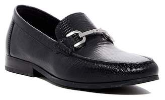 Donald J Pliner Niles-82 Lizard Embossed Leather Loafer