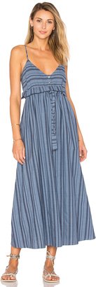 Mara Hoffman Tie Waist Midi Dress $350 thestylecure.com