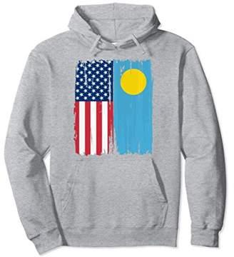 USA Palau Flag Hoodie