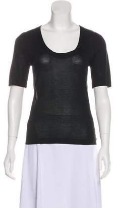 Balenciaga Silk & Cashmere Top