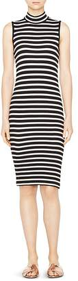 ATM Anthony Thomas Melillo Sleeveless Stripe Dress $325 thestylecure.com
