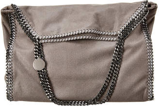 Stella McCartney Falabella Large Shaggy Deer Fold-Over Tote