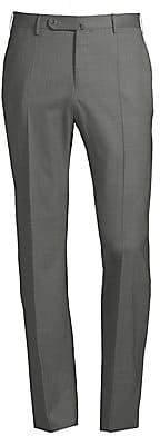 Incotex Men's Matty Straight-Leg Wool Pants