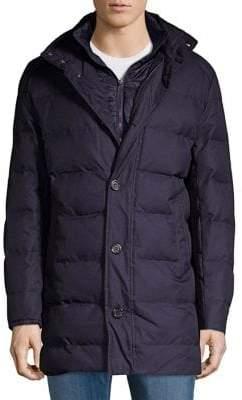 Black & Brown Black Brown Classic Quilted Puffer Jacket