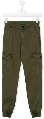 Zadig & Voltaire Kids TEEN pocketed cargo trousers