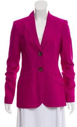Rena Lange Tailored Silk Blazer