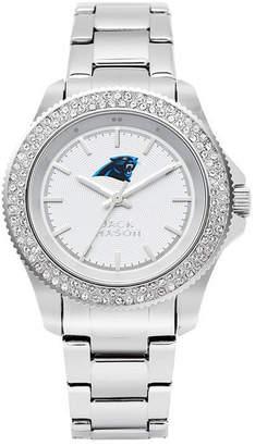 Jack Mason Women Carolina Panthers Glitz Sport Bracelet Watch
