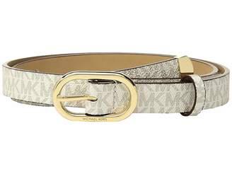 MICHAEL Michael Kors Logo PVC Belt