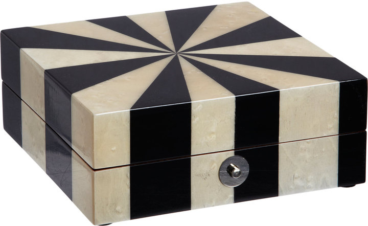 Barneys New York Starburst Small Hinged Box