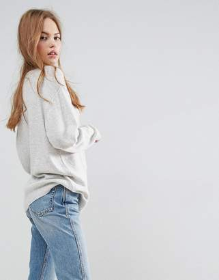 Asos DESIGN Oversized Sweater with Crew Neck