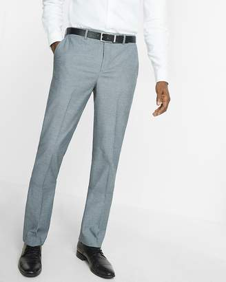 Express Classic Agent Stretch Cotton Diamond Dress Pant