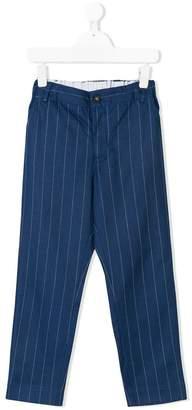 Anne Kurris pinstripe tapered trousers