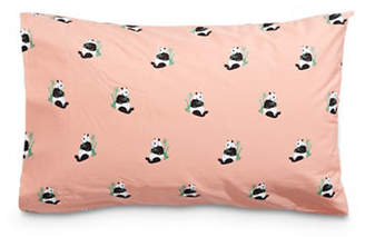 Martha Stewart Whim Panda 200-Thread Count Two-Piece Pillowcase Set