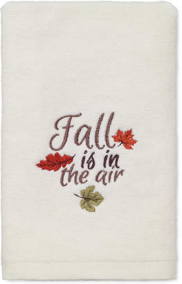 Avanti Last Act! Fall Is In The Air Cotton Embroidered Hand Towel Bedding