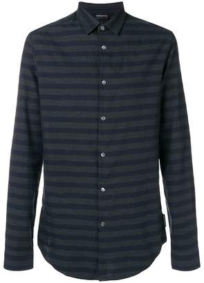 Emporio Armani striped shirt