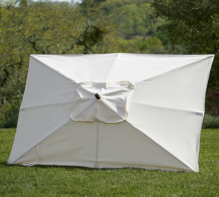 Rectangular Market Umbrella - Solid