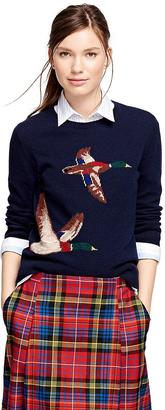 Wool Intarsia Sweater $148 thestylecure.com