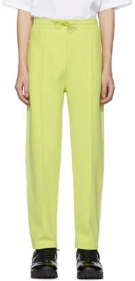Kenzo Yellow Logo Track Pants
