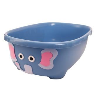 Prince Lionheart TUBIMAL Infant & Toddler Tub with Lid and Bath Hammock Elephant