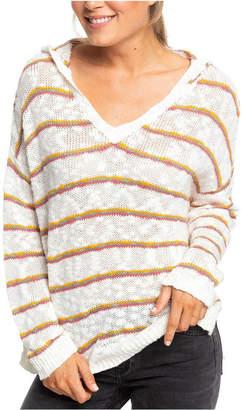 Roxy Juniors' Sandy Bay Beach Cotton Striped Top