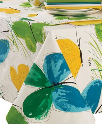 Vera Table Linens, Flights of Fancy Collection