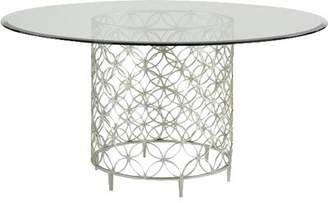 Caracole Classic Glass Top Dining Table Caracole Classic