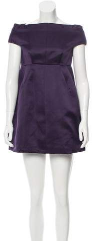 Marc Jacobs Marc Jacobs Off-The-Shoulder Mini Dress