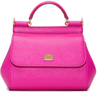 Dolce & Gabbana Pink Mini Miss Sicily Bag $1,295 thestylecure.com