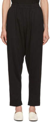 Raquel Allegra Black Drop Lounge Pants